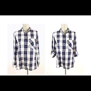 Zara Women's Long Sleeve Button Down Shirt XS